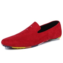 Canvas Slip-On Embroidery Men's Stylish Shoes