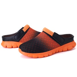 Mesh Gradient Slip-On Men's Slingback Sandals