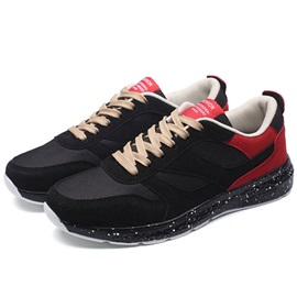 Mesh Color Block Lace-Up Sneaker for Men
