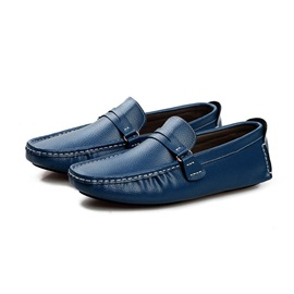 PU Plain Slip-On Simple Men's Shoes