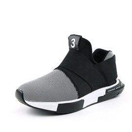 Spandex Slip-On Color Block Glueing Men's Sneakers