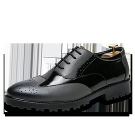 PU Lace-Up Men's Dress Shoes