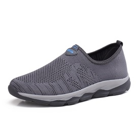 Mesh Slip-On Men's Casual Sneakers