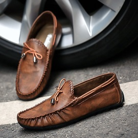 PU Slip-On Low-Cut Upper Men's Loafers