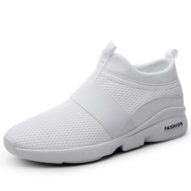 Mesh Low-Cut Upper Slip-On Men's Sneakers