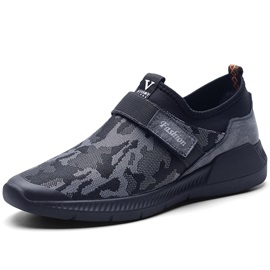 Camouflage Velcro Men's Sneakers