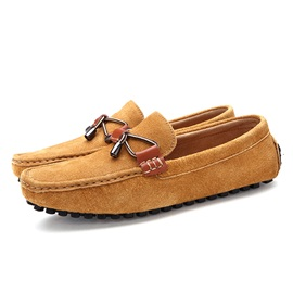 Plain Low-Cut Upper Slip-On Men's Loafers