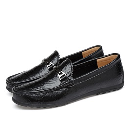 Slip-On Round Toe Men's Shoes