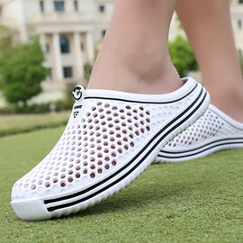 Hollow Slip-On Men's Slippers