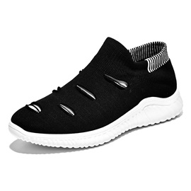 Round Toe Slip-On Mesh Men's Sneakers