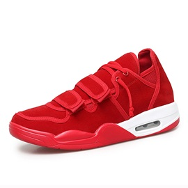 Air Cushion Sports Velcro Round Toe Men's Sneakers