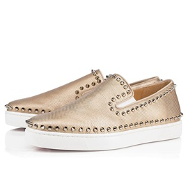Slip-On Round Toe Rivet Men's Loafers