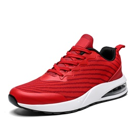 Lace-Up Sports Low-Cut Upper Mesh Sneakers