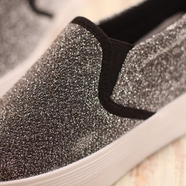 Sequins Slip-On Loafers