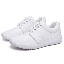 Western Mesh Round-Toe Lace-Up Sneakers