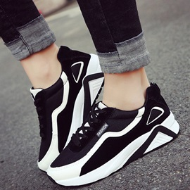 Mesh Breathable Lace-Up Patchwork Women's Sneakers