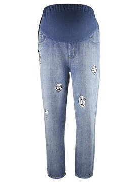 Slim Legging Belly Cover Pregnancy Jeans