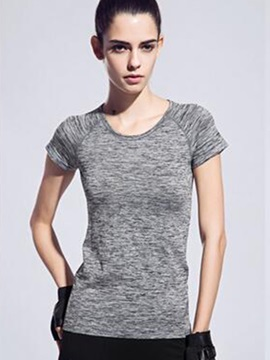 Slim-Fit Short-Sleeve Women Running Tee