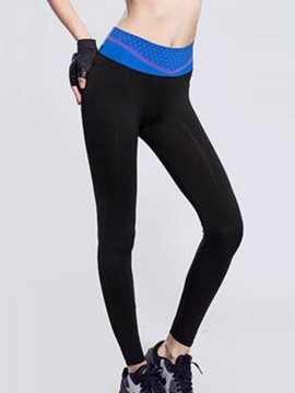 Nylon Mid-Rise Women Yoga Pant