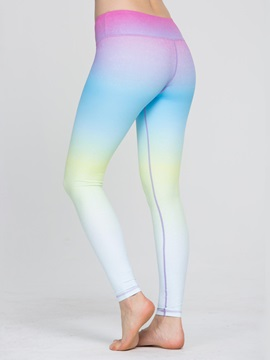 Polyester Gradient Color Active Pant