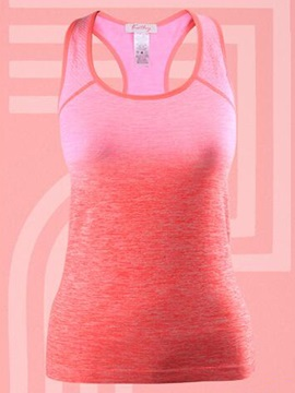Dip-Dyed Fast Drying Women Gym Tank Top