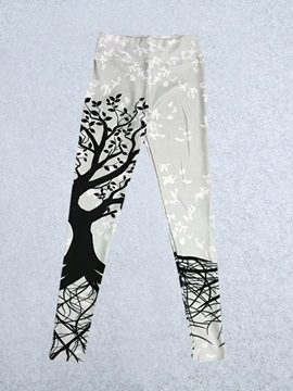 Print Tree Yoga Leggings for Women