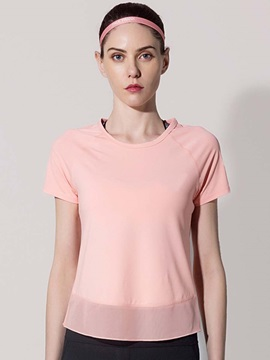 Loose Short Sleeves Quick Dry Women