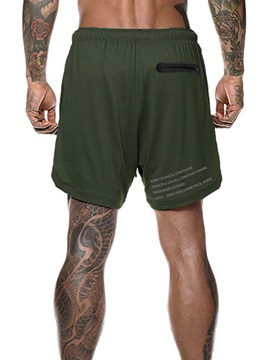Camouflage Print Men's Shorts Pants