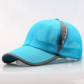 Net Design Men's Peaked Cap