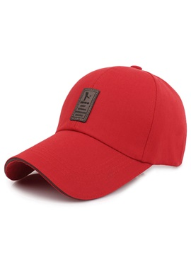 Pure Color Cotton Simple Baseball Cap