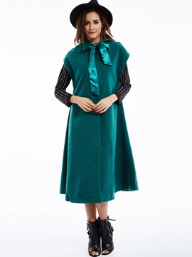 Stylish Bowknot Sleeveless Cape