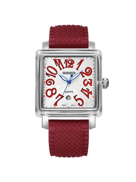 Simple Square Dial Design Women's Watch