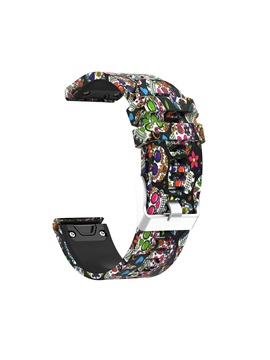 Garmin Forerunner 935 Cute Strap, Quick Release Replacement Floral Printing Camouflage band