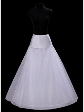 Simple Style A-Line Style Gauze Wedding Petticoat