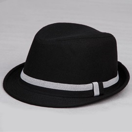 Belt Decorated Men's Fedora Hat