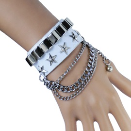 Chic Chain Alloy Men Bracelet