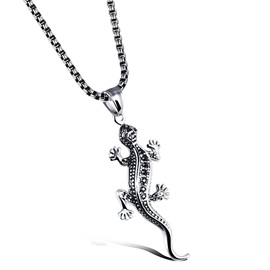 Creative Lizard Men's Pendant Necklace