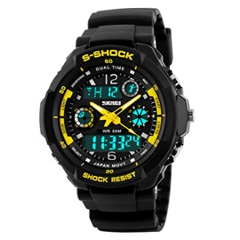 Fashion Luminous Analog Men Sport Watch