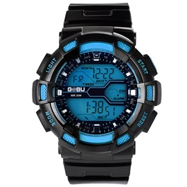 Multifunctional LED Luminous Men's Sports Watch