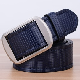 Men's Pure Color Casual Belt
