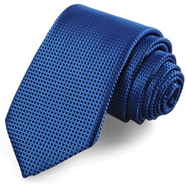 Business Solid Color Grid Men's Necktie