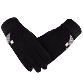 Thicken Non-Slip Men's Outdoor Gloves