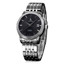 Business Stainless Steel Auto Mechanical Men's Watches