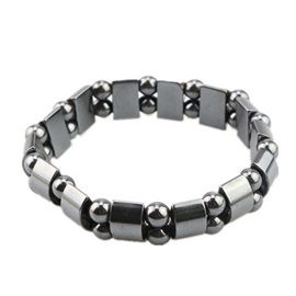 Black Magnetic Stone Anti-Fatigue Bracelets & Bangles
