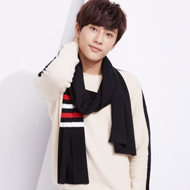 Color Block Patchwork Cashmere Men's Scarfs