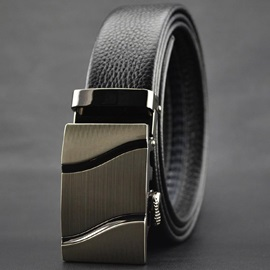 Fashionable Men's Automatic Buckle Belt