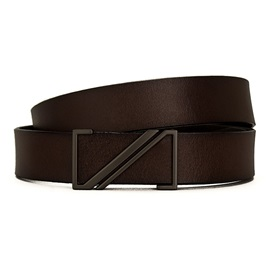 Casual Style Smooth Buckle PU Leather Men's Belt