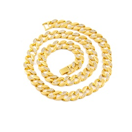 Hip Hop Gold-plating High Quality Men's Chain Necklace