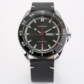 Multifunctional Calendar Display Waterproof Sports Men's Watch
