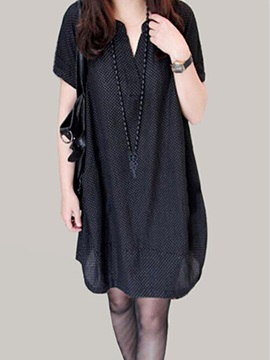 Casual Style Loose Day Dress